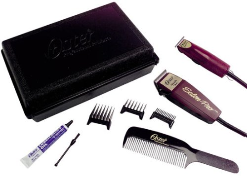 Oster 1-2-3 T-Finisher and Salon Pro Clipper Kit #76830-593