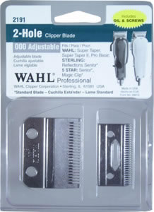Wahl 2-Hole 000 Adjustable Clipper Fade Blade 268
