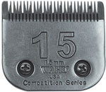 "Wahl Competition Series Size #15 Blade 1.5mm (3/64"") 4648"