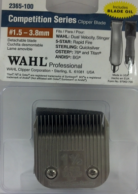 Wahl Competition #1.5 Detachable Blade 2365-100