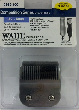 Wahl Competition #2 Detachable Blade 2369-100