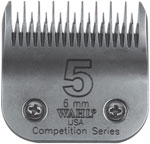 "Wahl Competition Series Blade Size #5 ST 6mm (15/64"") 4652"