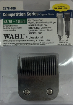 Wahl Competition #3.75 Detachable Blade 2378-100