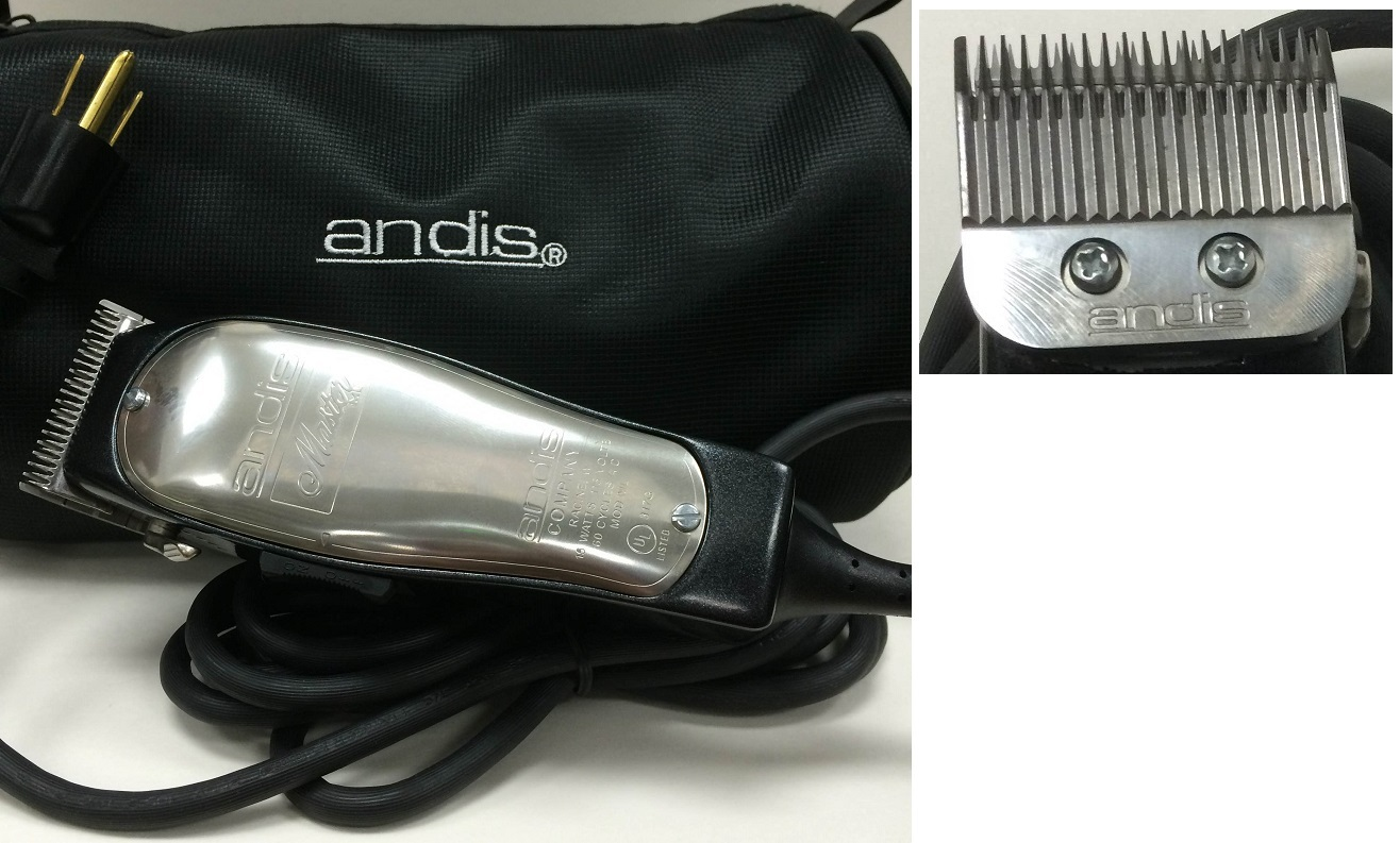 ANDIS SMC-2 Silver Excel 2-Speed #65535 UK/EU