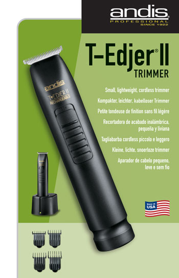 Andis D3T Rechargeable Trimmer w/ T-Blade Euro Plug #32555