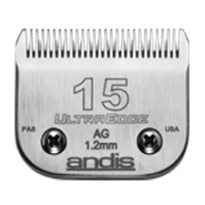 "Andis UltraEdge Size 15/ Leaves hair 3/64"" - 1.2mm 1231"