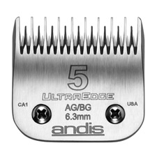 "Andis UltraEdge Size 5 Skip/Leaves hair 1/4"" - 6.3mm 1235"