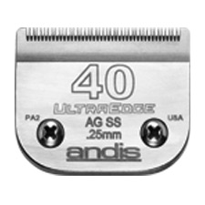 "Andis UltraEdge Size 40SS/ Leaves hair 1/100"" - 0.25mm 1510"