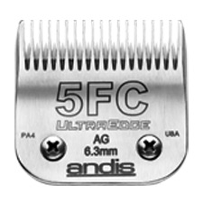 "Andis UltraEdge Size 5FC/ Leaves hair 1/4"" - 6.3mm 1500"