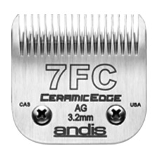 "Andis CeramicEdge Size 7FC/ Leaves hair 1/18"" - 3.2mm #64240"