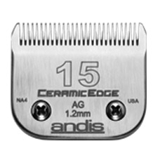 "Andis CeramicEdge Size 15/ Leaves hair 3/64"" - 1.2mm #64255"