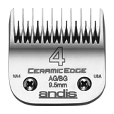 "Andis CeramicEdge Size 4 Skip Leaves hair 3/8"" - 9.5mm #64305"