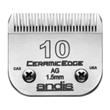 "Andis CeramicEdge Size 10/ Leaves hair 1/16"" - 1.5mm 2048"