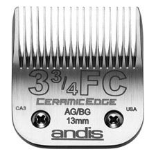 "Andis CeramicEdge Size 3-3/4FC/ Leaves hair 1/2"" - 13mm 2078"