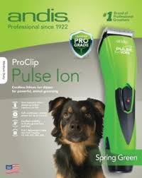Andis RBC ProClip Pulse Ion Lithium Cordless -Green #68065