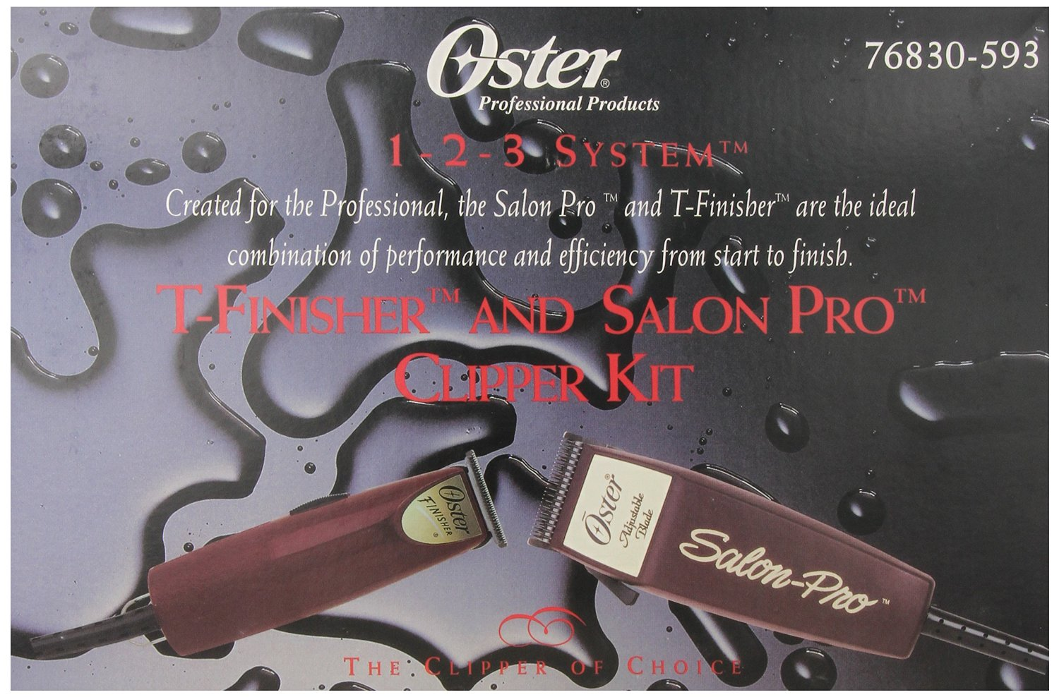 Oster T-Finisher and Salon Pro Clipper Kit #6929