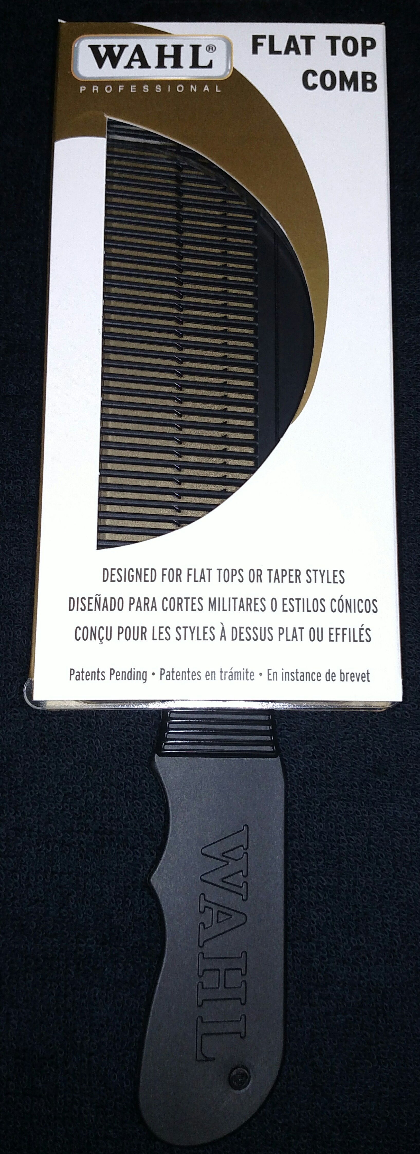 Wahl Flat Top Comb Black