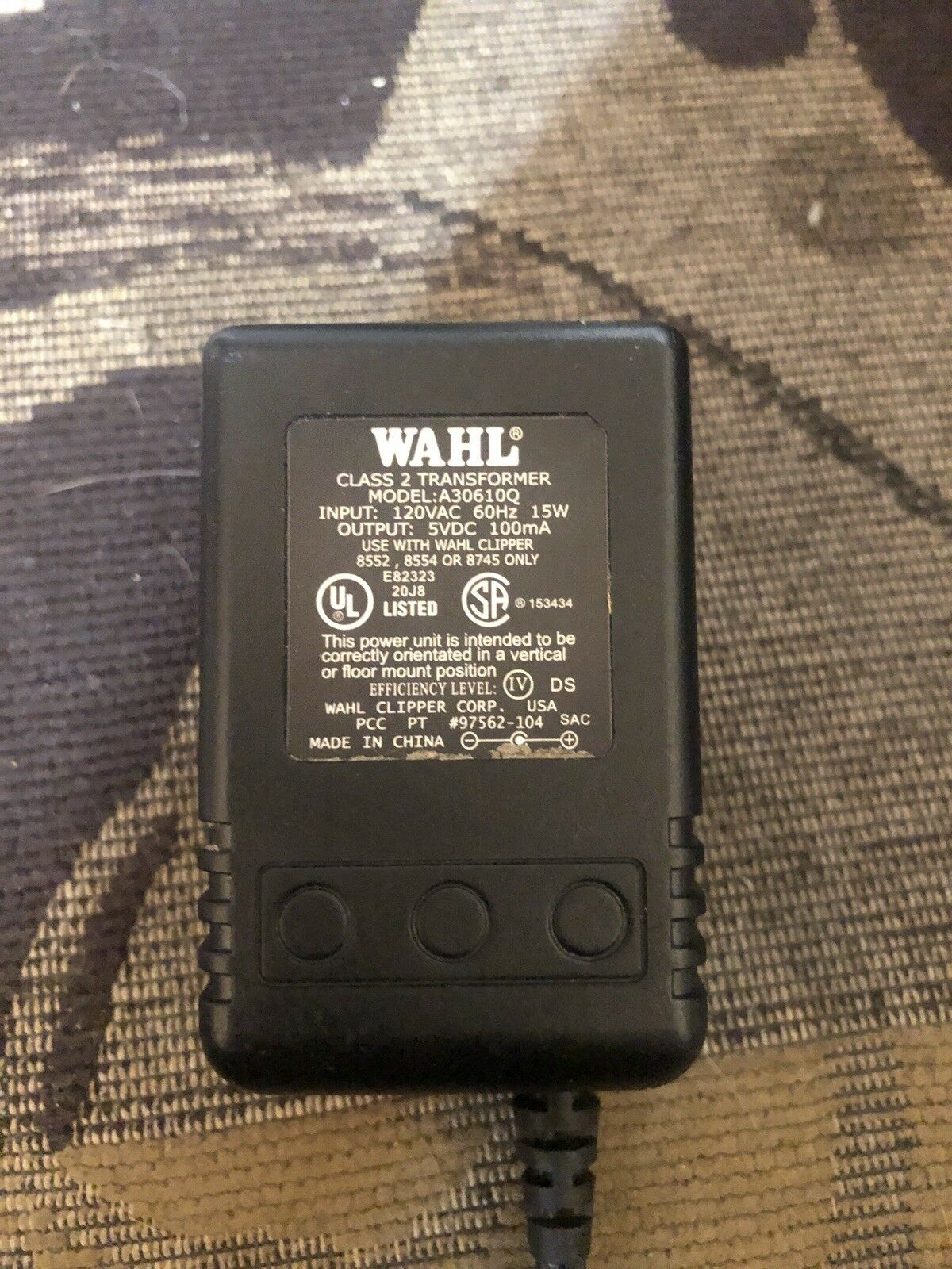 Wahl PRO SERIES CHARGER/CORD 4869