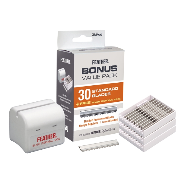 Feather 30 Styling Razor Replacement Blades #F1-20-130
