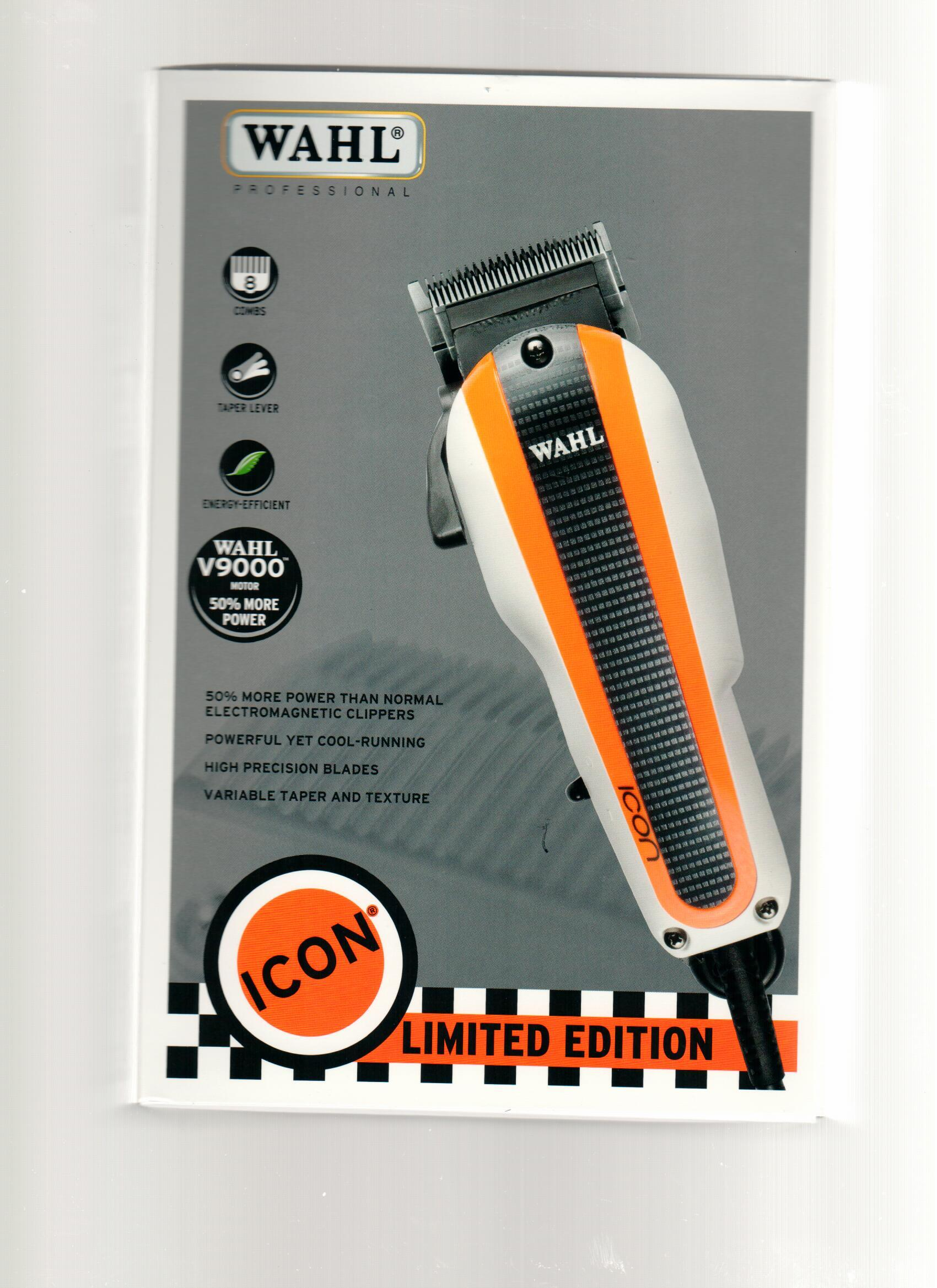 Wahl *LIMITED EDITION* Racer Icon Clipper