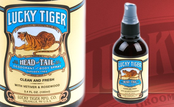 Lucky Tiger Deodorant & Body Spray - 6437