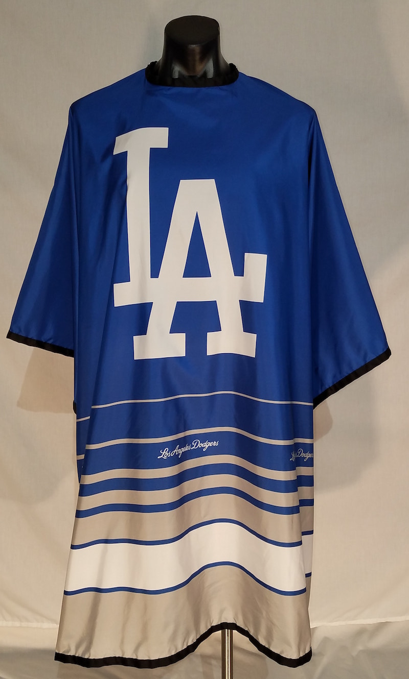 MLB Licensed Los Angeles Dodgers Cutting Cape 8078