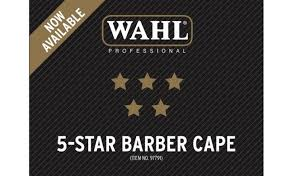 Wahl Professional 5 Star Barber Cape 97791