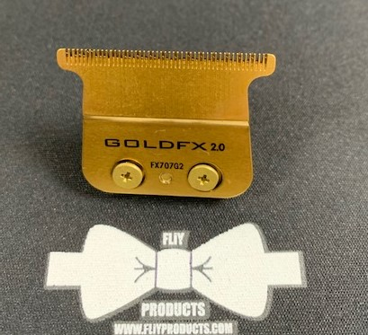 BaBylissPRO® FLiY Gold Titanium DEEP TOOTH T-Blade RC 8935