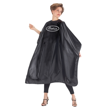 Black Cape with Andis Logo One Size 3496