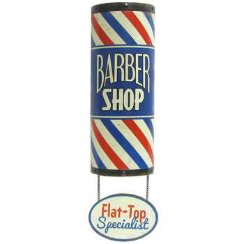 Barber Shop Flat Top Sign