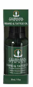 Clubman Beard & Tattoo Oil 1oz - 7201