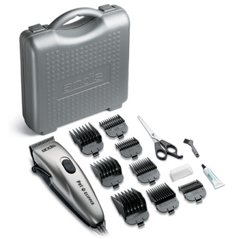 Andis PM1 Hard Case 13 Piece Clipper Kit (Euro & UK Plug) #23785