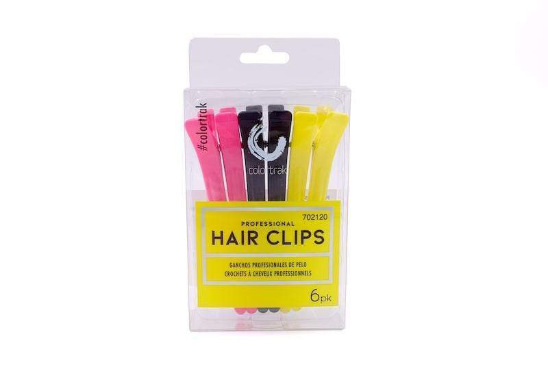 PROFESSIONAL HAIR CLIPS 6PK | SECTIONING CLIPS 8830