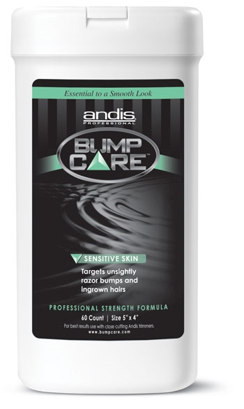 Andis Sensitive Skin Bump Care Wipes #68150